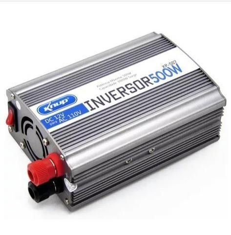 Inversor De Energia 500w Conversor Entrada 12v E Saida 110v Retirar Bh