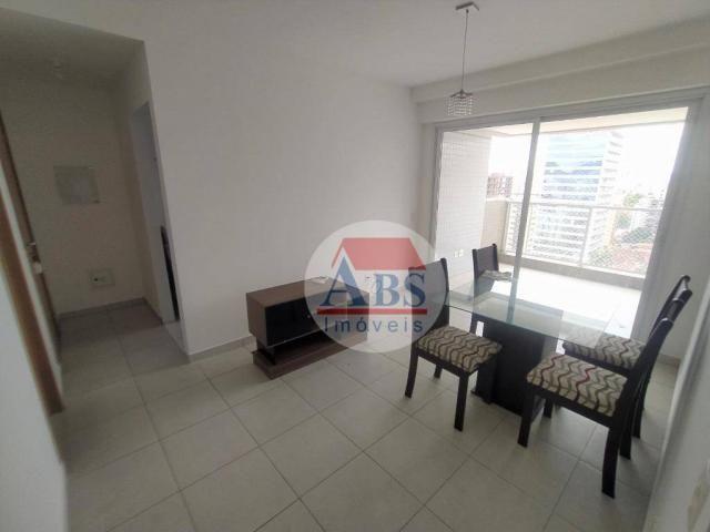 Apartamento com 2 dormitórios para alugar, 80 m² por R$ 3.500,00/mês - Gonzaga - Santos/SP - Foto 2