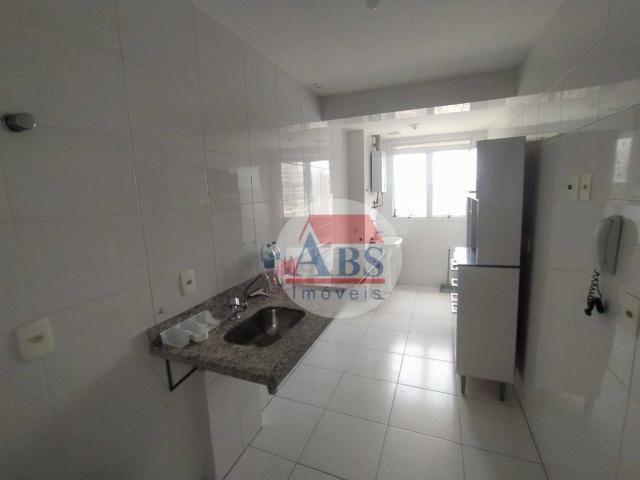 Apartamento com 2 dormitórios para alugar, 80 m² por R$ 3.500,00/mês - Gonzaga - Santos/SP - Foto 4