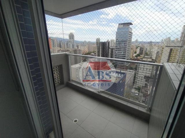 Apartamento com 2 dormitórios para alugar, 80 m² por R$ 3.500,00/mês - Gonzaga - Santos/SP - Foto 10