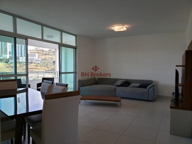 Apartamento para alugar com 3 dormitórios em Vale do sereno, Nova lima cod:BHB20857