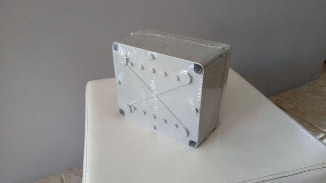 Caixa em termoplástico de sobrepor, dim. 170x145x90, Steck - Foto 3