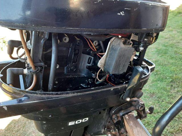 Motor para barco Mercury 20 - Foto 2