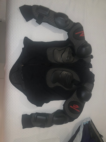 Calça fox armadura reddragon motocross downhill - Foto 3