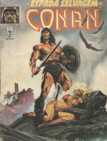 Kit 5 revistas quadrinhs Marvel: Wolverine e Conan - Foto 5