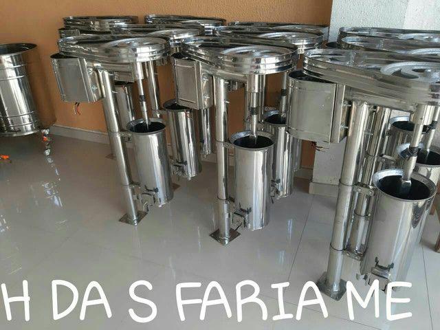 MÁQUINA DE AÇAÍ TODA EM AÇO INOX 100% - Foto 2