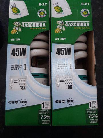 Promoção lâmpadas Taschibra 45w