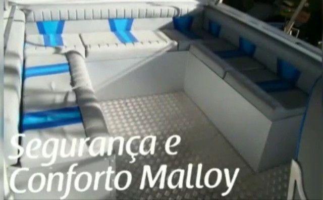 Lancha de alumínio Malloy modelo Adventure 246 Open - Foto 6
