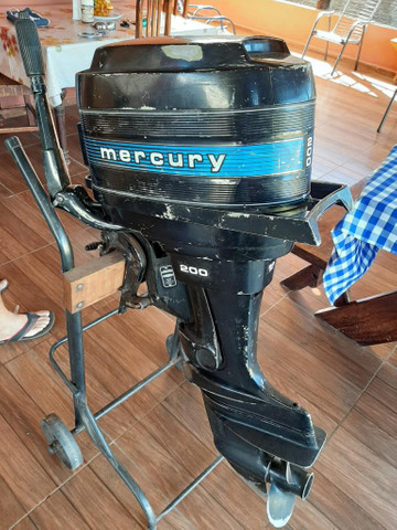 Motor para barco Mercury 20 - Foto 5
