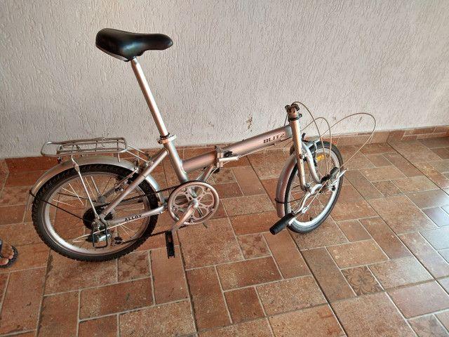 Bicicleta blitz alloy dobrável - Foto 2