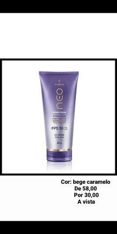 CC Cream Protetor Solar FPS50 Bege Caramelo 40g<br><br>