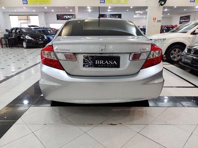 Honda Civic 1.8 LXL 16v Flex 4p Completo C/ Ar Digital - Foto 5