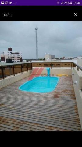 Apartamento à venda com 2 dormitórios em Bancários, João pessoa cod:36894