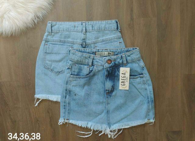 Shorts jeans e saias jeans - Foto 3