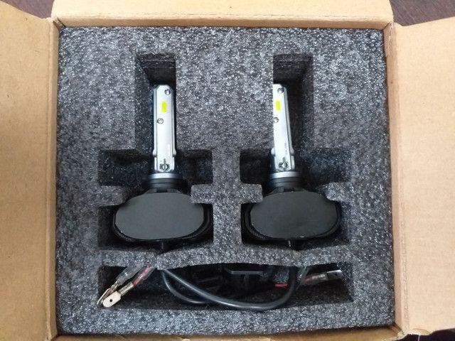 Lâmpadas Ultra Led H1 e H7 6000k - Foto 2