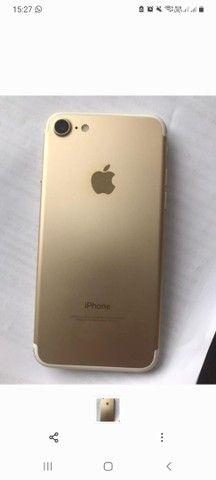Iphone 7 dourado 128g NOVISSIMO
