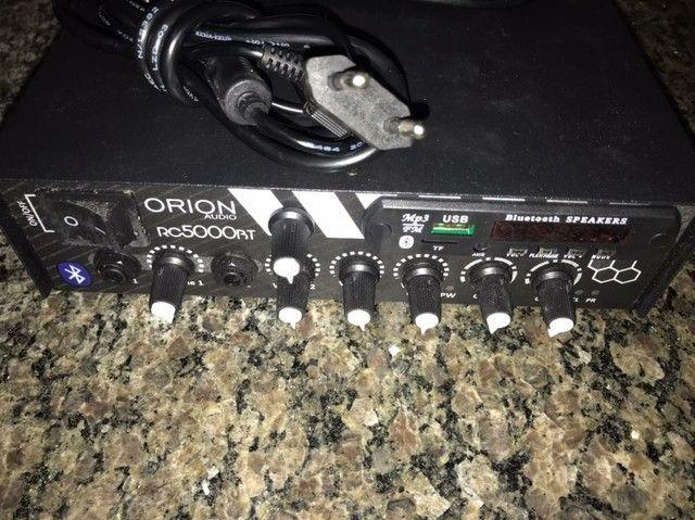 Receiver Amplificador De Som Ambiente 300W RC-5000 BT - Orion<br><br> - Foto 2