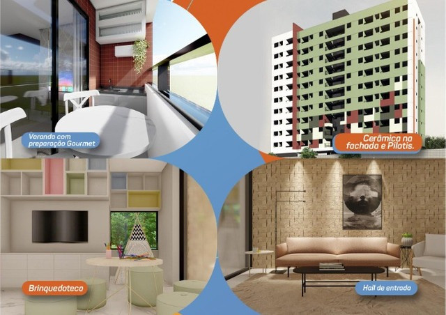 Gk Viver Bem Condomínio Club - Camaragibe - 2 e 3 Q (sendo 1 Suite) - - Foto 2