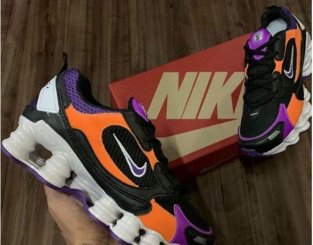 Tenis Nike Shox 12 molas