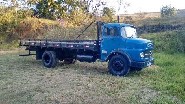 Caminhão MB 1111 ano 1965 - Foto 2