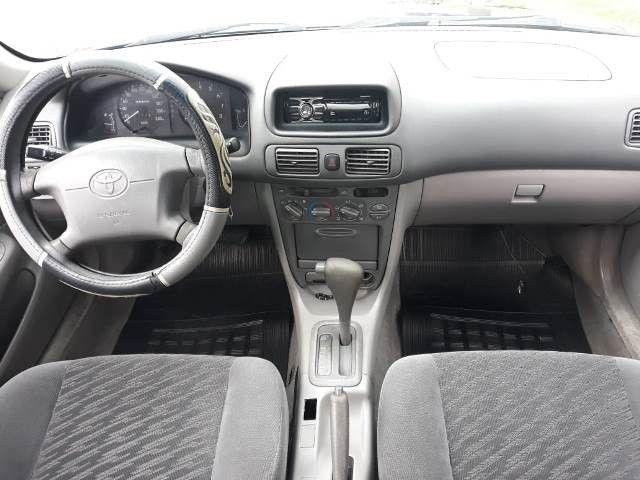 Corolla xei 1.8, gasolina, câmbio automático, completo, ano 2002/2002 - Foto 8
