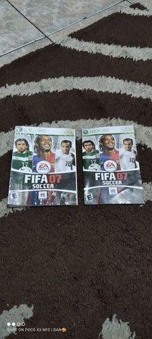 Capa e encarte ORIGINAL FIFA 07 Xbox