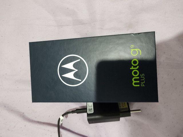 Moto g9 plus zero 1 mês comprado com nota  - Foto 4