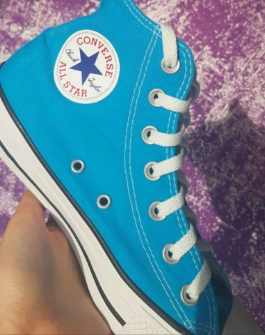 All Star Chuck Taylor azul - Foto 2