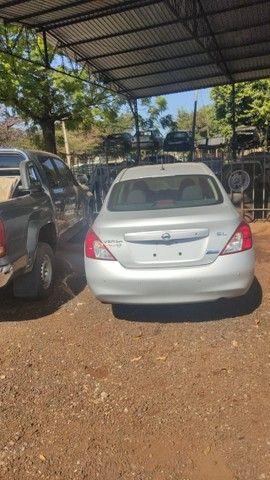 Sucata Nissan Versa 2013 Revisado Para Retirada Para Peças - Foto 19