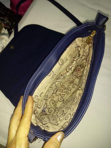 Bolsa azul - Foto 3