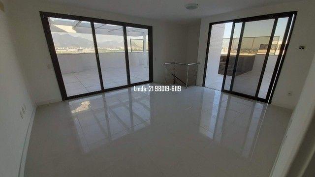 Cobertura no Ilha Pura, 3 quartos, 281m, piscina, sauna, churrasqueira, vista lagoa/mar - Foto 14