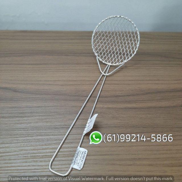 Peneira Escumadeira Plug N°10 P/ Frituras Aramfactor - Foto 5
