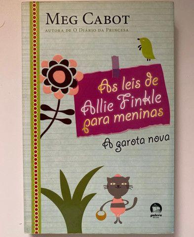 AS LEIS DE ALLIE FINKLE (a garota nova)- Meg Cabot