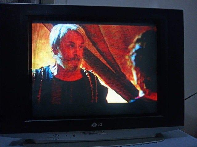 Vendo Tv de Tubo LG 21 polegadas, e Ventilador Britânia  - Foto 2