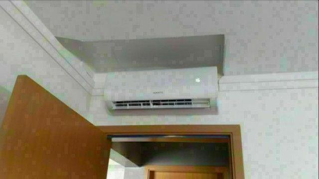 Instalaçãode ar condicionado,rapel com NR35!