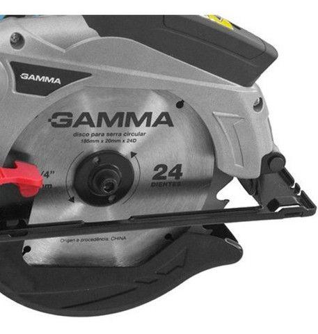 Serra Circular com Laser 7.1/4 POL 1300W 220V G1930/BR Gamma (1 Ano Garantia) - Foto 2