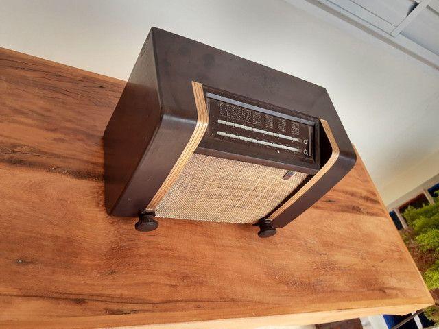 Rádio Philips antigo valvulado - Foto 3