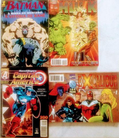 "Batman + HULK + Capitão America & ""Marvel EXcalibur"""