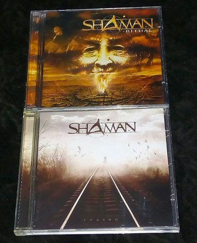 Helloween Walls of Jericho(alemão) & Shaman (Ritual & Reason) - Foto 4