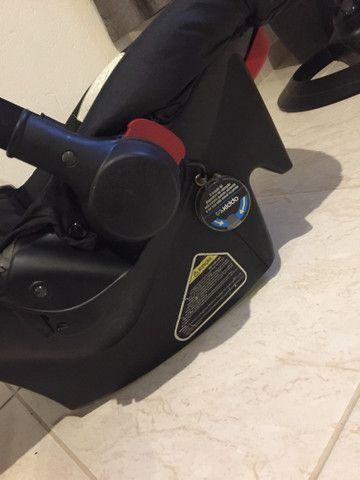 Bebê conforto e carrinho de passeio - Foto 3