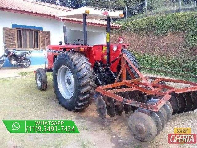 Trator Massey Ferguson 275 4x2 ano 82 - Foto 6