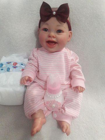 Mini bebê reborneada  - Foto 3