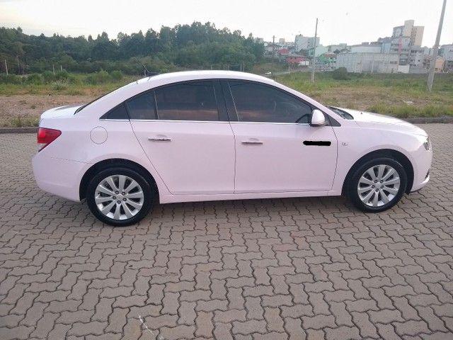 Cruze LTZ automático 2014 Único dono, raríssimo modelo na cor Rosa. - Foto 7