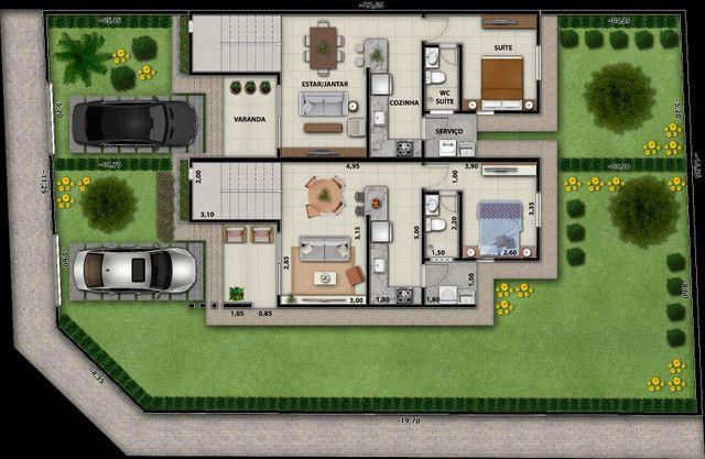 Casas c/ 02 ou 03 quartos atrás do shopping Eusébio . - Foto 9