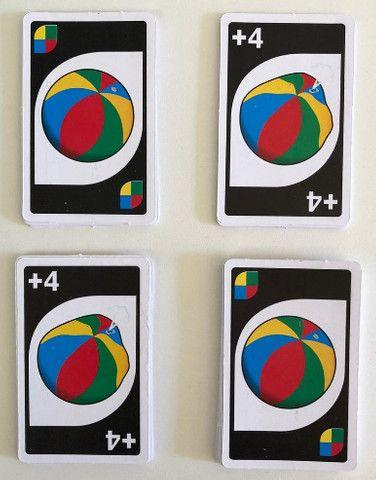 Jogo De Cartas Uno Versão Verão 108 Cartas - Foto 2