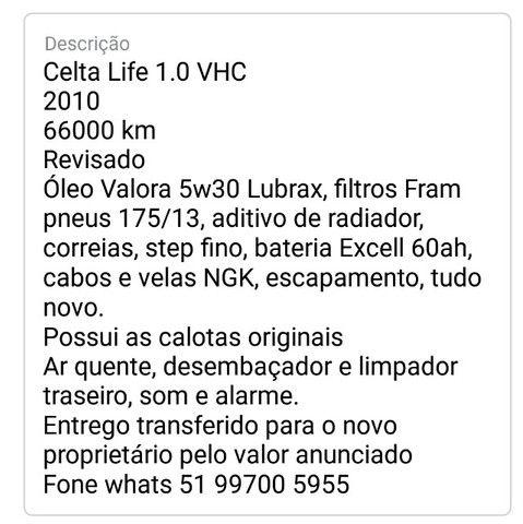Celta Life 1.0 2010 - Foto 5