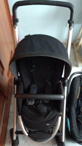 2 Carrinhos de bebê poucos usado mais bebê conforto - Foto 5