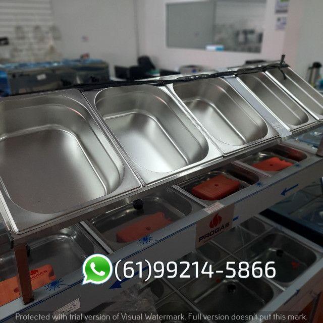 Condimentadora 5 cubas Inox Kit Pizzaiolo Italinox - Foto 2
