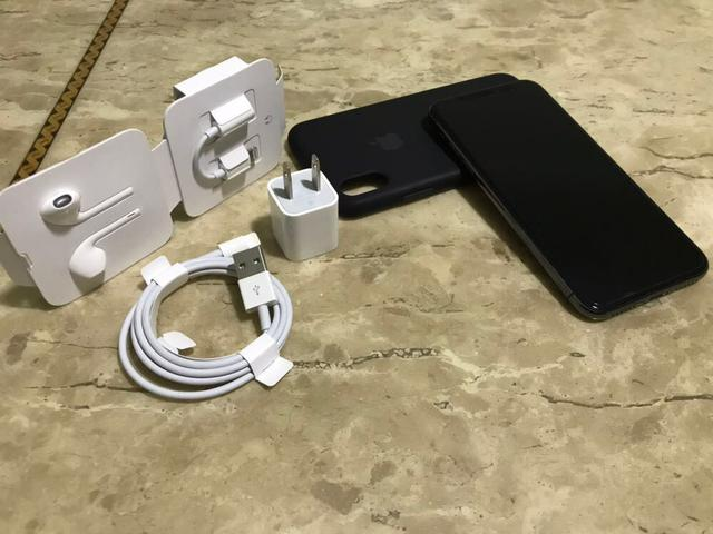 IPhone X - Nota - Space Gray - 256GB - 1 mês