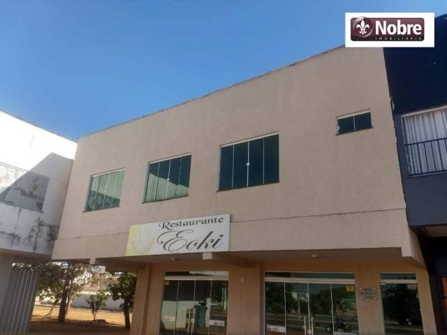 Sala para alugar, 187 m² por r$ 4.005,00/mês - plano diretor sul - palmas/to